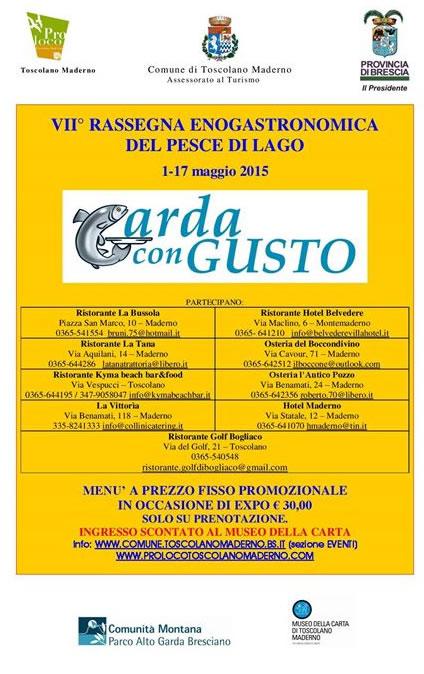 7 Garda con Gusto a Toscolano Maderno