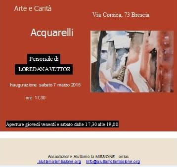 Acquarelli a Brescia