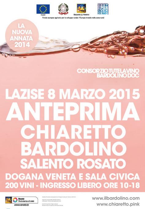 Anteprima Chiaretto Bardolino a Lazise (VR)