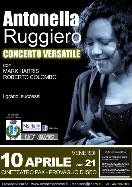 Antonella Ruggero a Provaglio d'Iseo