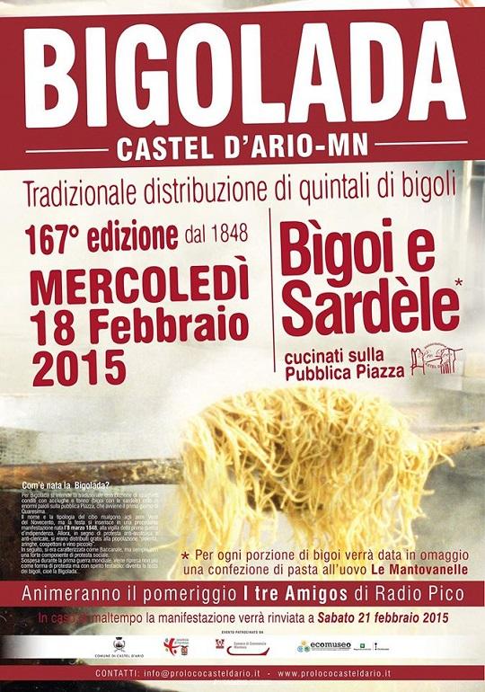 Bigolada 2015 Castel D'Ario (MN)