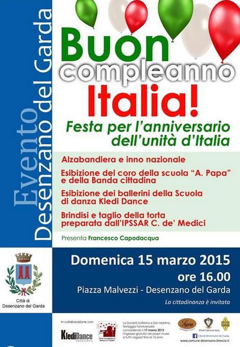 Buon Compleanno Italia a Desenzano