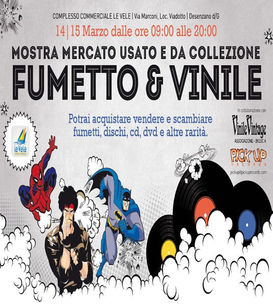 Fumetto&Vinile a Desenzano