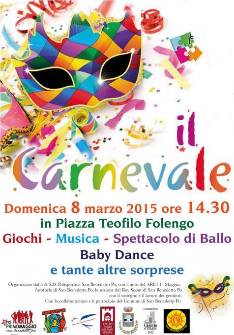 Il Carnevale a San Benedetto Po (MN)