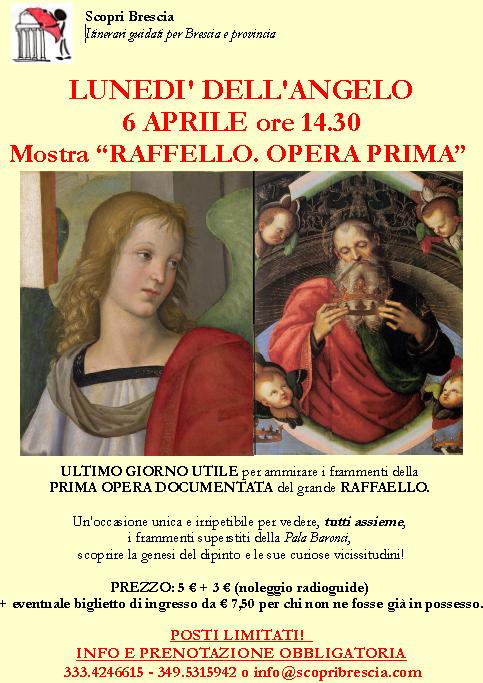 Lunedì dell'Angelo alla Mostra Raffaello