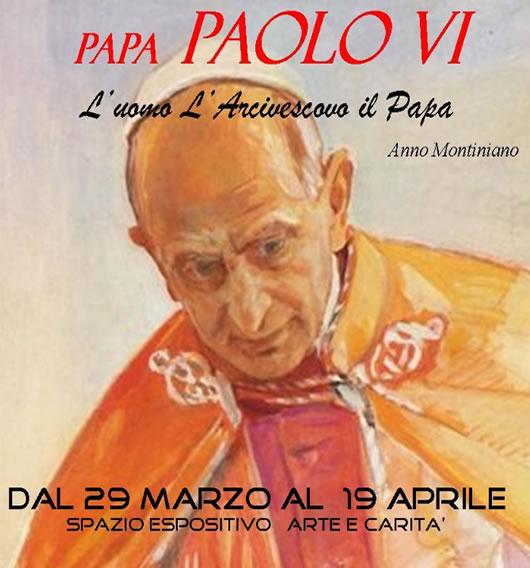 Mostra Paolo VI beato a Brescia