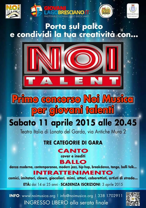 Noi Talent a Lonato del Garda