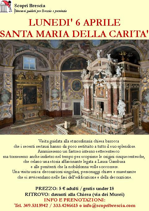 Santa Maria della Carità con Scopri Brescia