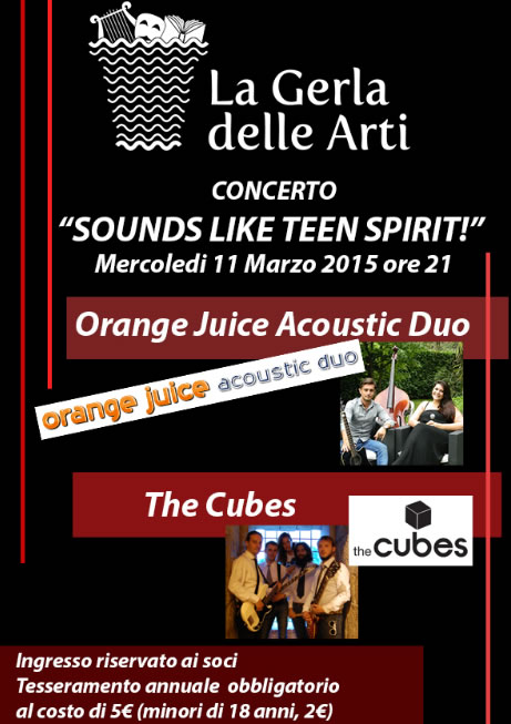 Sounds like teen spirit a Brescia