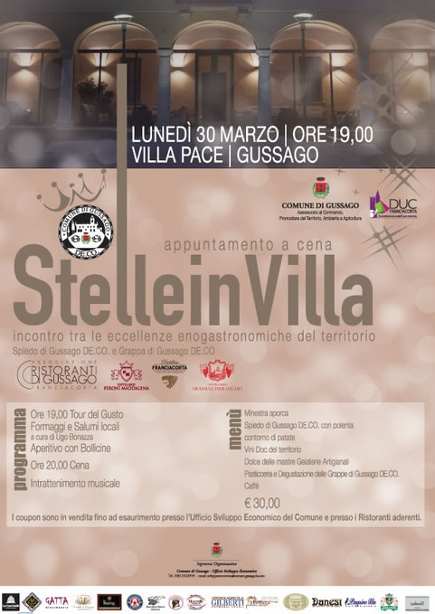 Stelle in Villa 2015 a Gussago