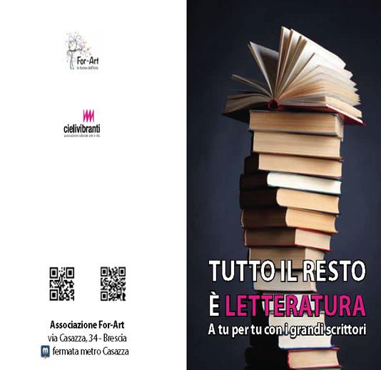 Tutto il Resto è Letteratura a Brescia