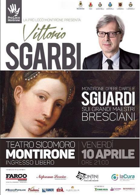 Vittorio Sgarbi a Montirone