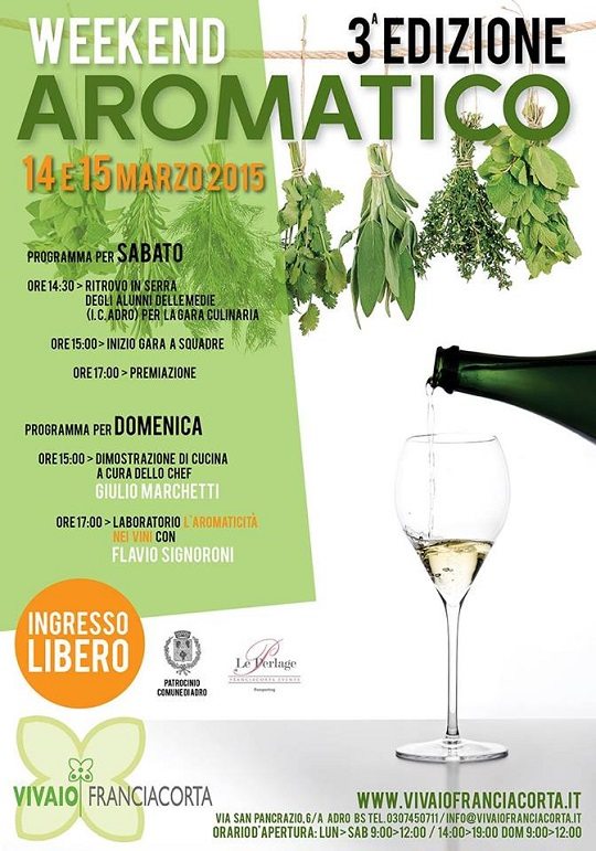 Weekend Aromatico 2015 Adro
