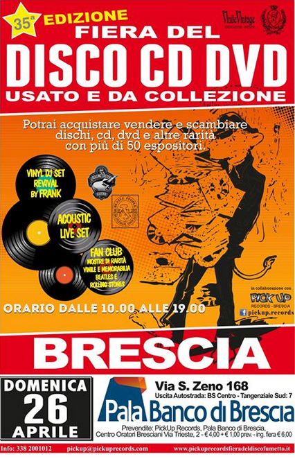 35 Fiera del Disco CD DVD a Brescia