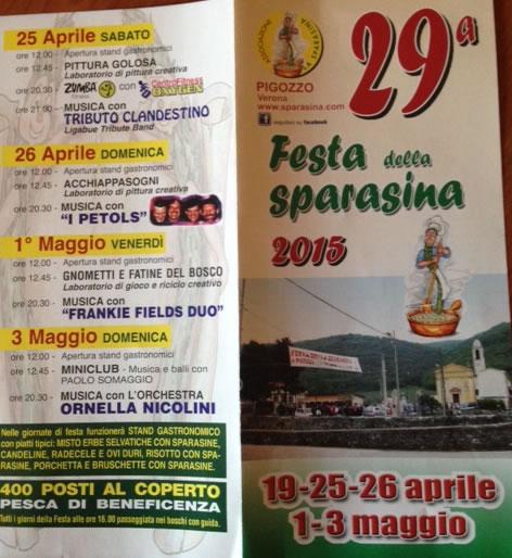 39 Festa della Sparasina a Pigozzo VR