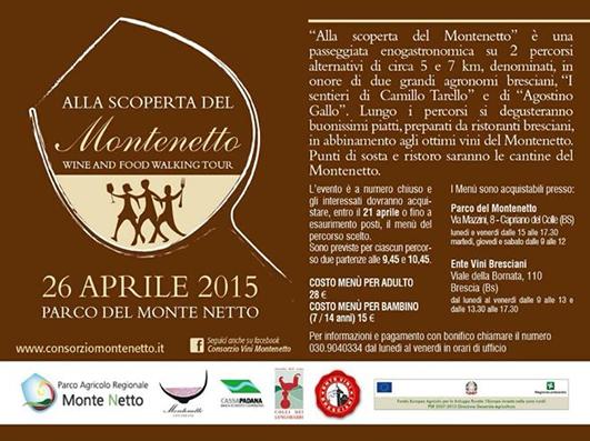 Alla Scoperta del Montenetto 2015