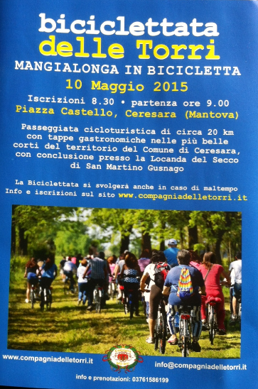Biciclettata delle Torri a Ceresara MN