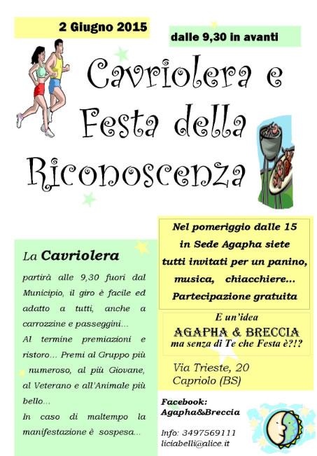 Cavriolera e Festa Riconoscenza a Capriolo