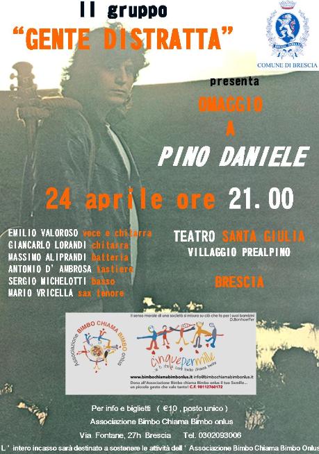 Concerto Omaggio a Pino Daniele a Brescia