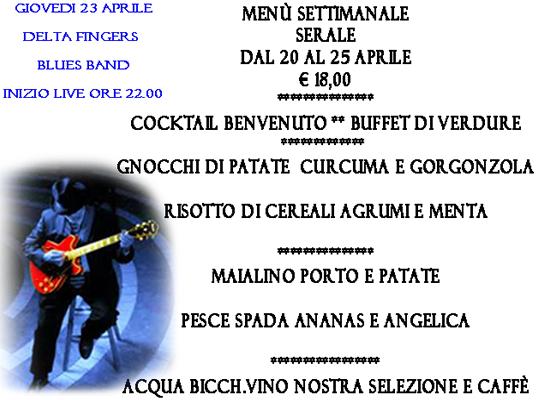 Delta Fingers Live a Brescia