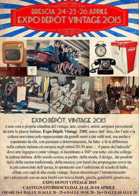 EXPO Dépôt Vintage 2015 Castegnato