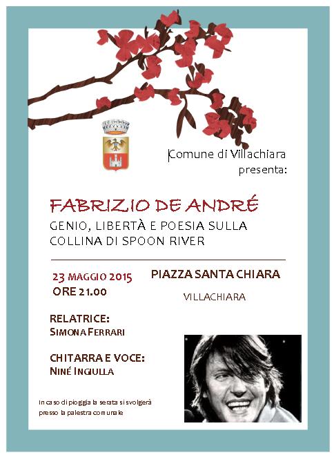 Fabrizio De Andre a Villachiara