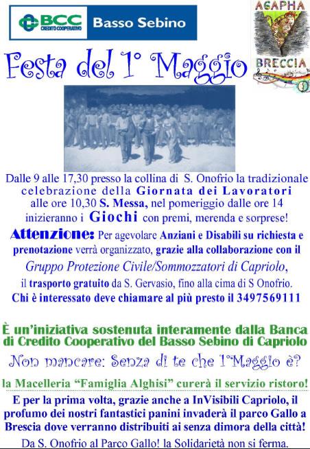 Festa del 1 Maggio a Capriolo