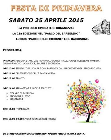 Festa di Primavera a Cividate Camuno