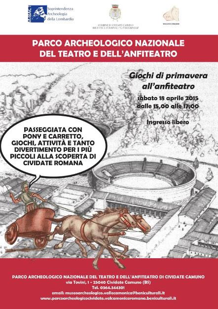 Giochi di Primavera all'Anfiteatro di Cividate Camuno