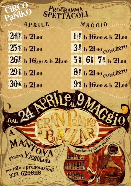 Gran Paniko al Bazar  Mantova