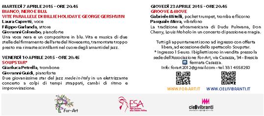 Jazz e The City a Brescia