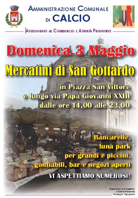 Mercatini di San Gottardo a Calcio (BG)