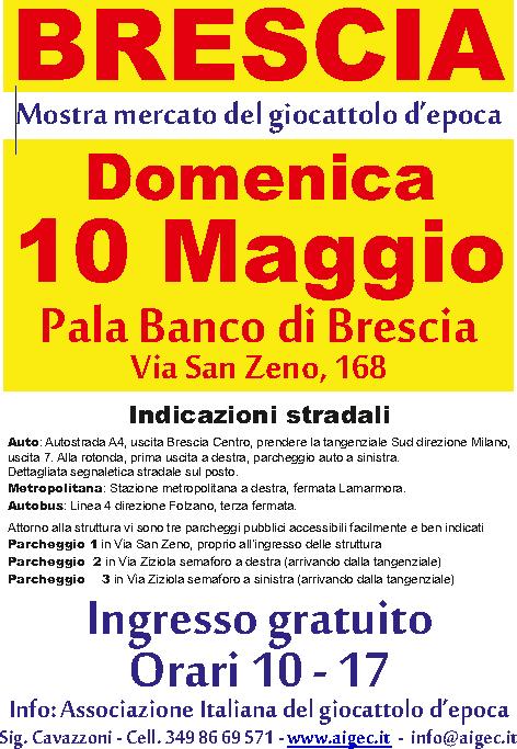 Mostra Mercato del Giocattolo d'Epoca a Brescia