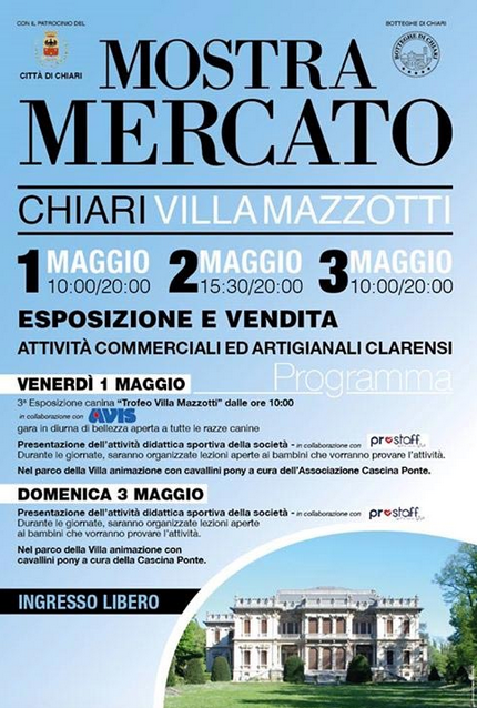 Mostra Mercato in Villa 2015 a Chiari
