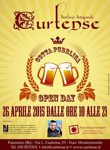 Open Day al Birrificio a Passirano
