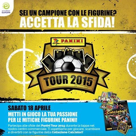 Panini Tour 2015 al CC Europa di Palazzolo 18-4-2015