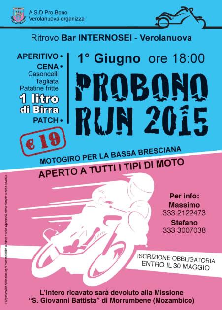 Probono Run 2015 a Verolanuova