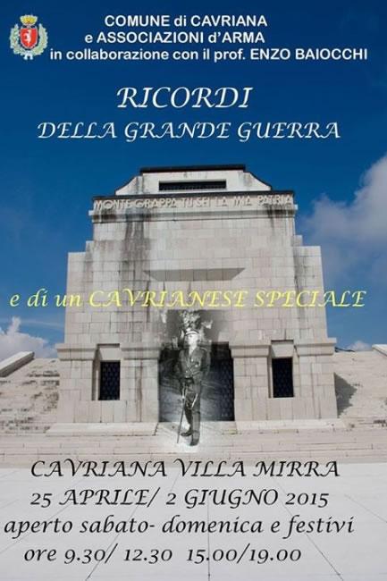 Ricordi Della Grande Guerra a Cavriana MN