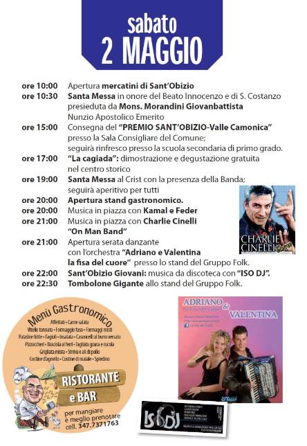 Sant'Obizio 2015  Niardo