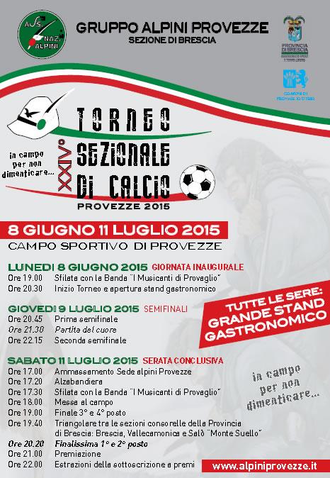 24 Torneo Sezionale di Calcio a Provezze