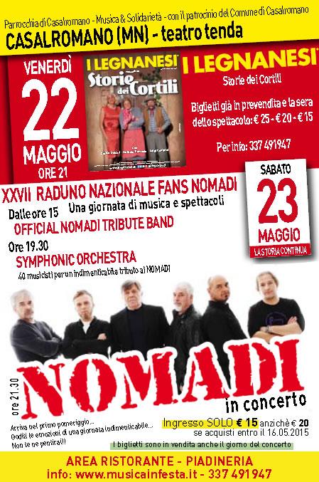 27 Raduno Nazionale Fans Nomadi a Casalromano (MN)