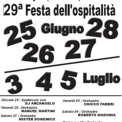 29 Festa dell'Ospitalità a Pozzolengo