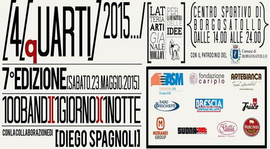 4 Quarti 2015 a Borgosatollo
