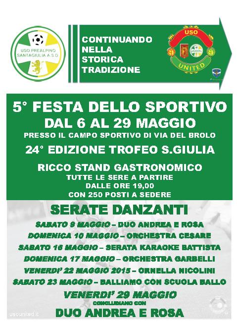 5 Festa dello Sportivo a Brescia
