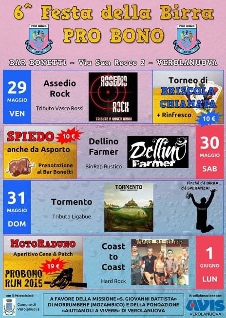 6 Festa della Birra Pro Bono Verolanuova