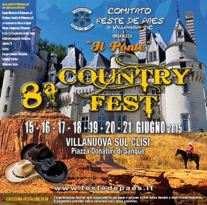 8 Country Fest a Villanuova sul Clisi
