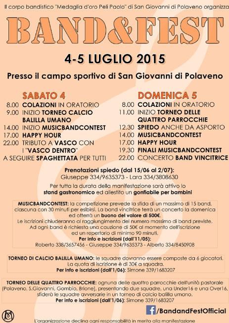 Band&Fest a Polaveno