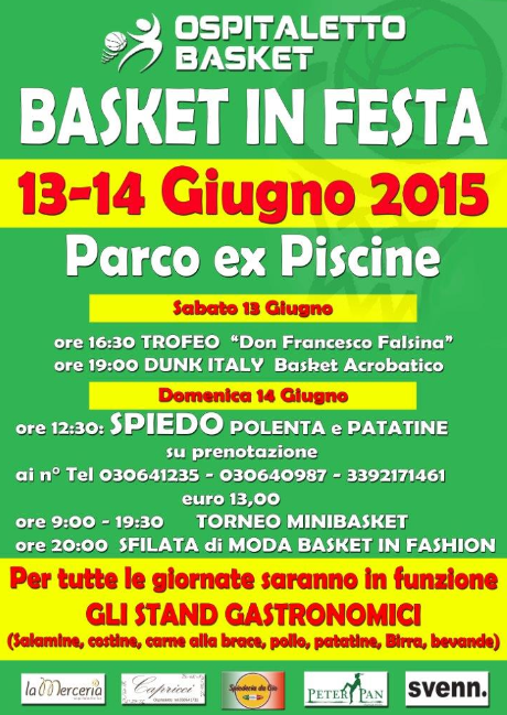 Basket in Festa a Ospitaletto