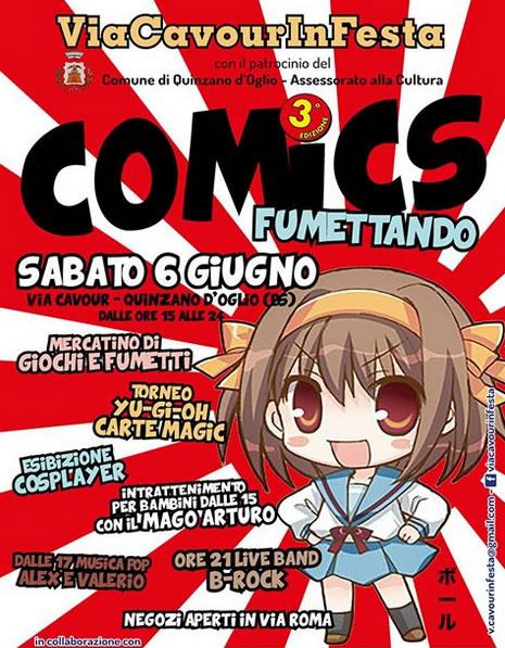 Comics Fumettando a Quinzano d'Oglio