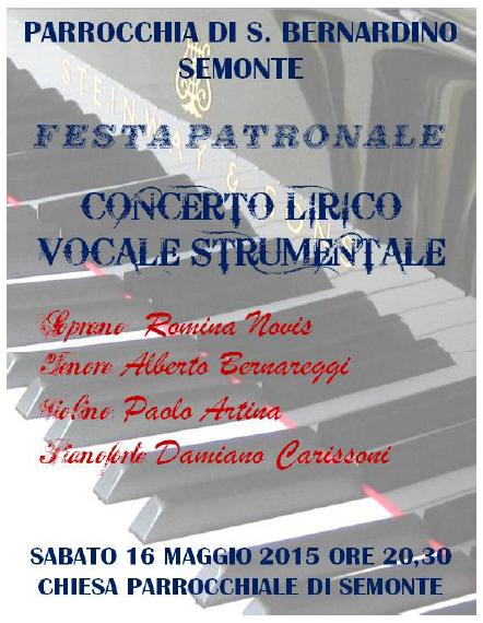 Concerto Lirico a Vertova BG
